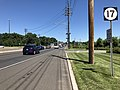 2018-07-19 11 29 54 View north along New Jersey State Route 17 just north of Bergen County Route 59 (Maywood Avenue) in Maywood, Bergen County, New Jersey.jpg