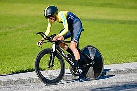 20180925 UCI Road World Championships Innsbruck Women Elite ITT Emilia Fahlin 850 9011.jpg