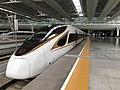 201812 CR400BF-A-5048 as G99 on the Platform 1 of Shanghai Hongqiao Station.jpg