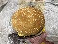 2019-02-28 21 43 12 A Burger King cheeseburger in Oak Hill, Fairfax County, Virginia.jpg