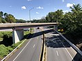 2019-08-25 10 53 55 View north along U.S. Route 1 (Washington Boulevard) from the overpass for Interstate 895 (Baltimore Harbor Tunnel Thruway) in Arbutus, Baltimore County, Maryland.jpg