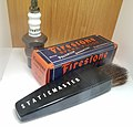 2019-11-22 Spark plugs and static eliminators with radioactive polonium at museum display.jpg