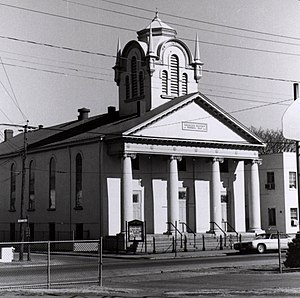 Jackson Ward - Ebenezer Baptist Church, 1978