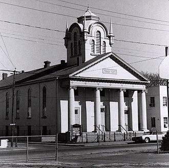 Jackson Ward - Ebenezer Baptist Church, 1978