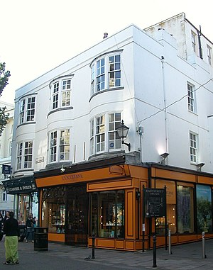 Grade II listed buildings in Brighton and Hove: E–H - Image: 22, 22a, 23 and 23a East Street, Brighton (Io E Code 480654)