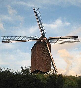 Woluwe-Saint-Lambert - Windmill near the Hof ter Musschen farm