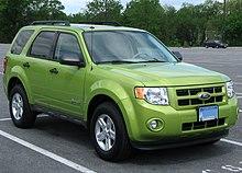Auto Transport Quotes: Ford Escape Hybrid