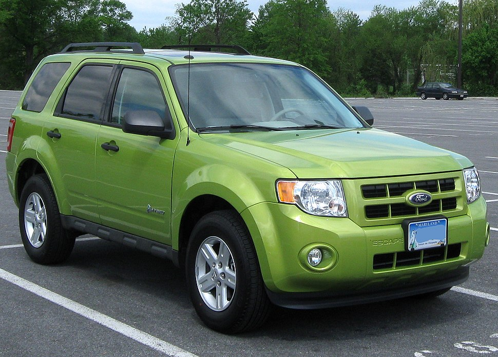 2nd Ford Escape Hybrid -- 04-29-2011 1