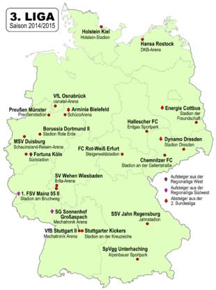 fussball deutschland 3 liga tabelle