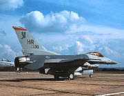 313th Tactical Fighter Squadron - General Dynamics F-16C Block 25A Fighting Falcon - 83-1130