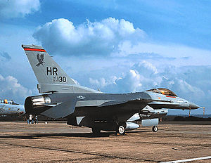 313th Tactical Fighter Squadron - Image: 313th Tactical Fighter Squadron General Dynamics F 16C Block 25A Fighting Falcon 83 1130