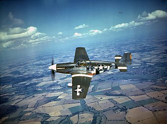 355th Fighter Wing - Image: 355fg p 51b wwii