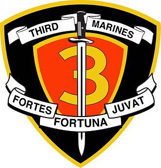 3rd Marine Division (United States) - Image: 3rd Marine Regimental Crest