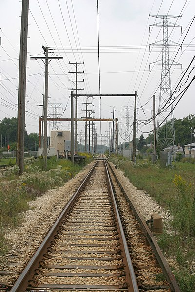 Berkas 3rd Rail To Overhead Wire Transition Zone On The