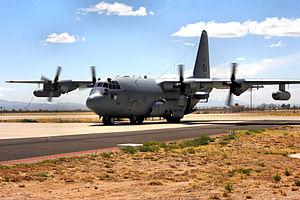 42d Electronic Combat Squadron - EC-130E Compass Call aircraft