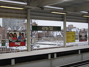 47th station (CTA Green Line) - Image: 47th CTA Green Line