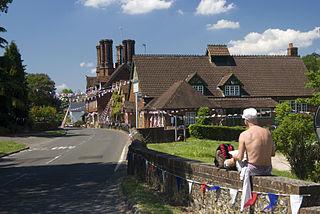 Albury, Surrey Village in England