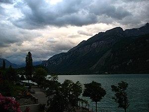 Brienz - An eastern view of Lake Brienz