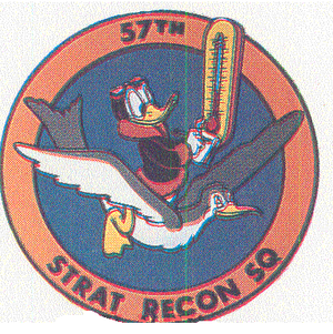 57th Weather Reconnaissance Squadron - Image: 57 Strategic Reconnaissance Sq emblem