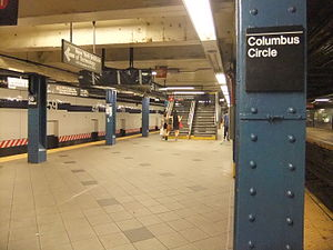 New York City Subway Station 59th Street