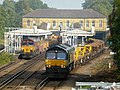 66168 on 6N32 and 66850 with 6C01 in possession at Bickley (21950942601).jpg