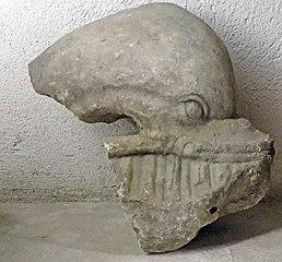 Dauphin (marbre) (Musée de Die)