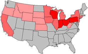 United States House of Representatives elections, 1938 - Image: 76 us house changes