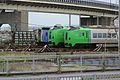 789 series stored at Hakodate 20160804.jpg