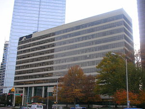 Norfolk Southern Railway - NS building in Atlanta, Georgia