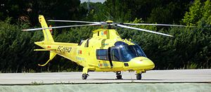 Helicopter Agusta A-109E Power of the SUMMA 11...
