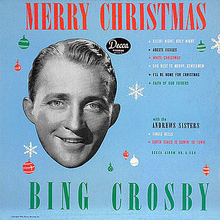 <i>Merry Christmas</i> (Bing Crosby album) studio album by Bing Crosby