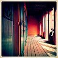 A-POIS Giuditta Nelli - Senegal 2012 - Île De Gorée, Maison des esclaves au premier étage.JPG