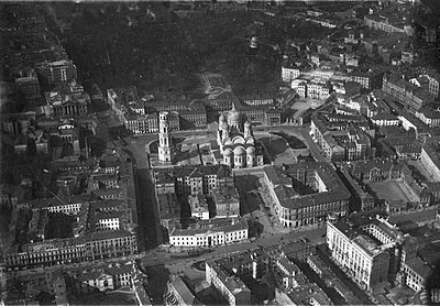 A. Nevsky Cathedral in Warsaw (Aerial).jpg