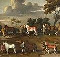 A. Sijmons (active c.1665-1675) - Six of the Duke of Newcastle's Manège Horses - 207781 - National Trust.jpg