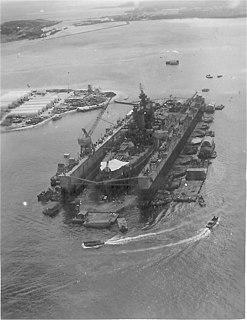 WWII American floating drydock