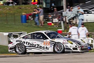 Alex Job Racing - Alex Job Racing Weathertech Porsche 997 GT3 Cup driven by Cooper MacNeil and Leh Keen at Road America.