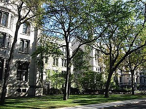 College of the University of Chicago - Many offices and classes of the College are located in the heart of the campus.