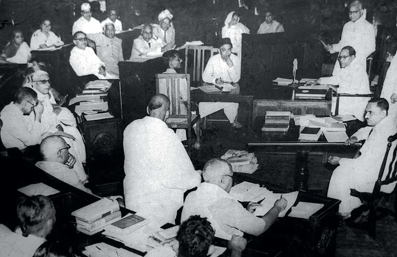 A Constituent Assembly of India meeting in 1950
