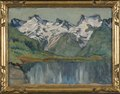 A Mountain Lake. Study from North Norway (Anna Boberg) - Nationalmuseum - 21377.tif