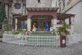 A Nativity Scene on the Square of the Plaza de la Catedral at the Havana Cathedral, Cuba LCCN2010638663.tif