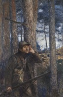 A Poacher (Bruno Liljefors) - Nationalmuseum - 18891.tif