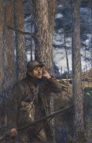 A Poacher (Bruno Liljefors) - Nationalmuseum - 18891.tif