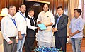 A delegation from Sikkim calling on the Union Home Minister, Shri Rajnath Singh, in New Delhi on May 02, 2016.jpg