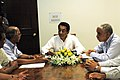 A delegation from the United Planters Association of Southern India (UPASI) and the Coffee Exporters meeting with the Union Minister for Commerce and Industry, Shri Kamal Nath, in New Delhi on September 29, 2006.jpg
