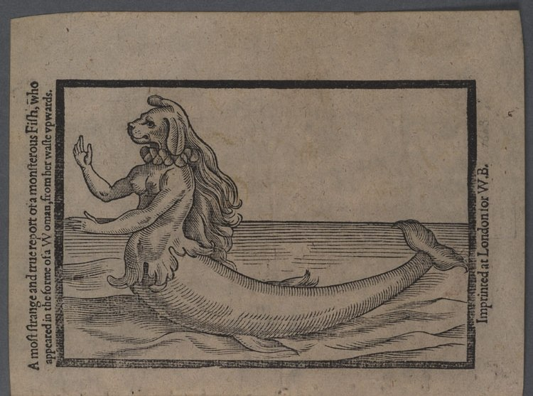 A most strange and true report of a monsterous fish. 1604 rotated