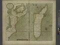 A new draught of the Island of MADAGASCAR ats St. LORENZO with Augustin Bay and the Island of Mombass at Large NYPL1640654.tiff