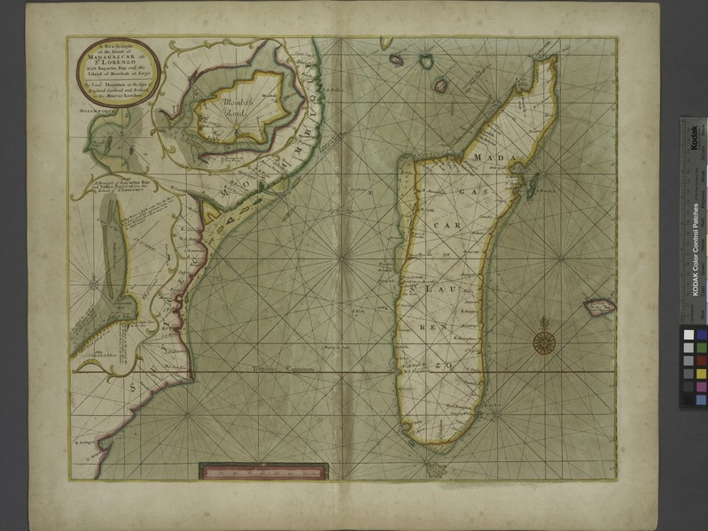 File:A new draught of the Island of MADAGASCAR ats St. LORENZO with Augustin Bay and the Island of Mombass at Large NYPL1640654.tiff
