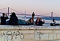 A photographer group trying to exploit the Lisbon sunset light (43853889694).jpg