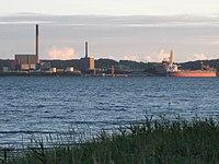 Aabenraa - Enstedværket set fra Løjt Land.JPG