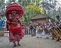 Aadimooliyaadan Theyyam at Edakkad 5.jpg